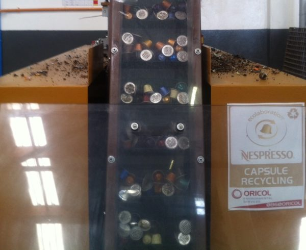 Oricol is Nespresso's recycling partner in South Africa